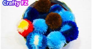 كيف تصنع كرات الصوف مع crafty fz
